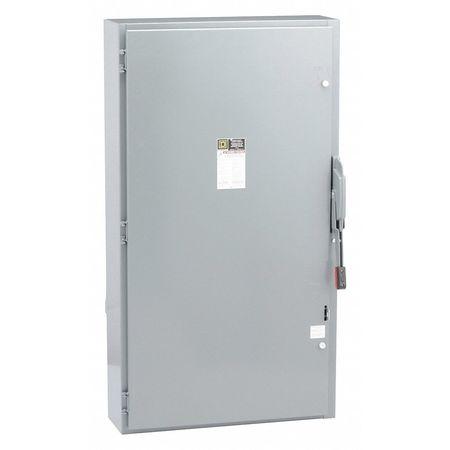 400 Amp 600VAC Single Throw Safety Switch 3P