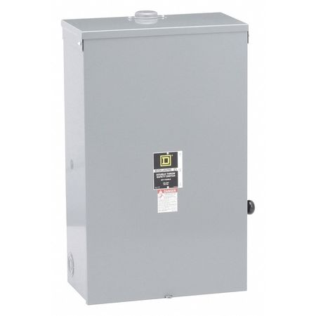 200 Amp 240VAC/DC Double Throw Safety Switch 2P