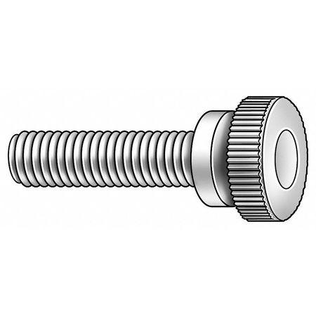 Thumb Screw, Knurled, 6-32x1 L, Pk100