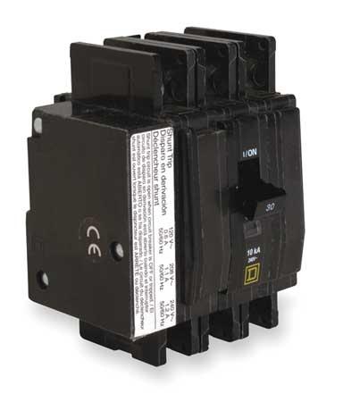 3P Shunt Trip Circuit Breaker 40A 240VAC