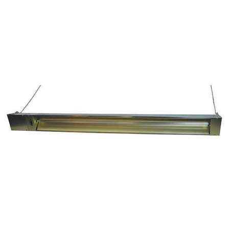 Electric Infrared Heater, 208V, 3000W