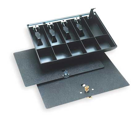 Cash Tray, Replacement, Black, Plastic