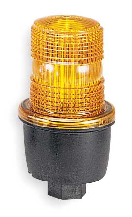 Low Profile Warning Light, LED, Amber