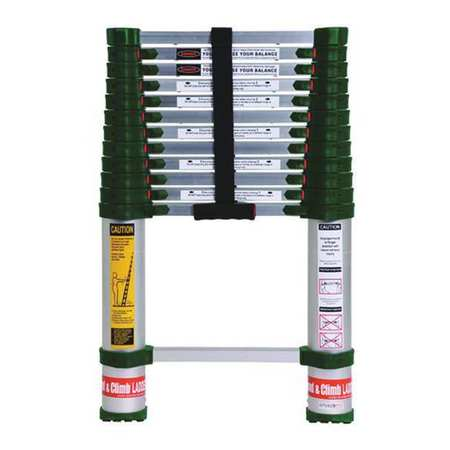 Telescoping Ladder, IA, Aluminum