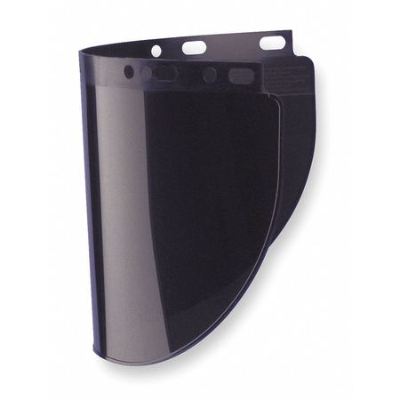 Faceshield Visor, Prpinate, 8IR, 8x16-1/2in