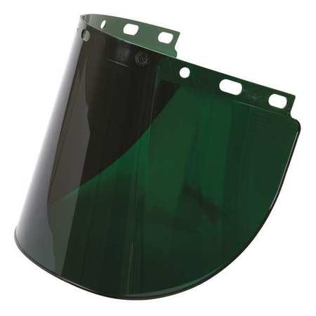 Faceshield Visor, Prpinate, 5IR, 8x16-1/2in