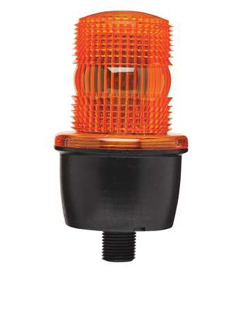 Low Profile Warning Light, LED, Amber, 24V