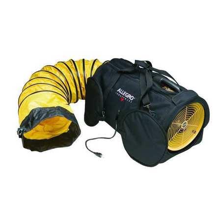 Conf. Sp Fan Air Bag,  Axial,  Dia 12 In