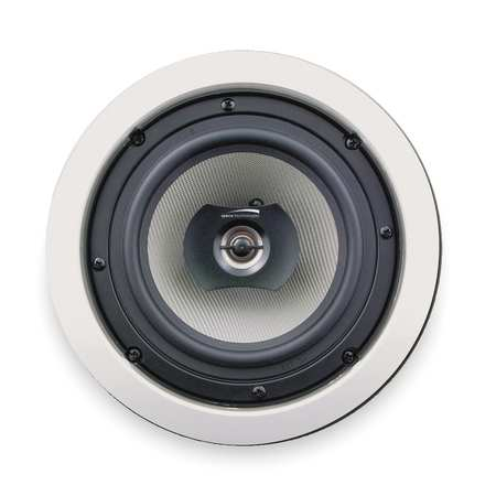 Speakers, 6 1/2 In, In-Ceiling, PK2