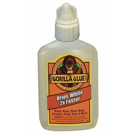 Fast Cure Glue, 2 Oz, Coverage 4 Sq Ft