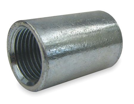 "1/4"" FNPS Galvanized Merchant Coupling"