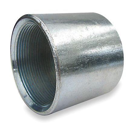 "2-1/2"" FNPT Galvanized Merchant Coupling"