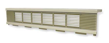 Cabinet Unit Heater Grille, 6-1/2 In. H