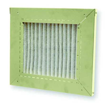 Disposable Filter, Unit Mounted, 17 In. H