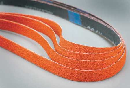 Sanding Belt, 1/2 In Wx18 In L, CA, 60GR