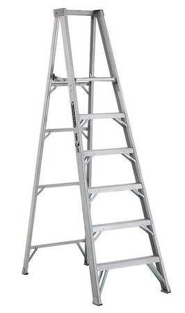 """Platform Stepladder,  5 ft. 8"""",  Aluminum,  375 lb."""
