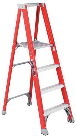 "Platform Stepladder, 3 ft. 9"", FGL, 300 lb."