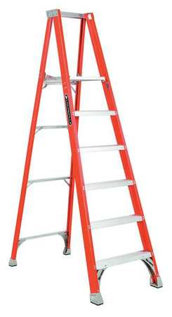 "Platform Stepladder,  5 ft. 8"",  FGL,  300 lb."
