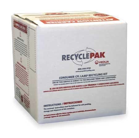 "Lamp Recycling Kit, 6""x6""x6"""