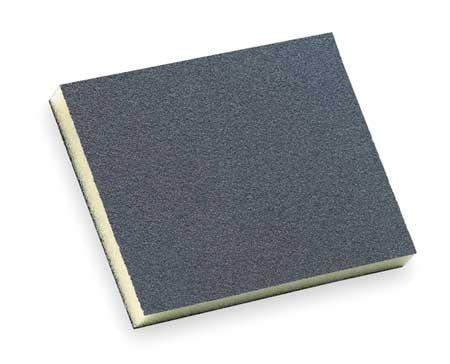 Sanding Sponge, X Med., 4.75x3.75x1/2 In
