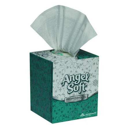 Facial Tissue, Angel Soft ps, Cube, PK36