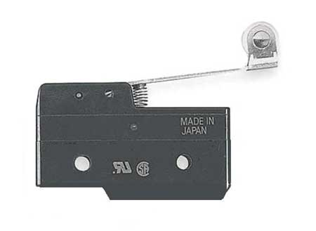 Snap Switch, 20A, SPDT, Hinge Roller Lever