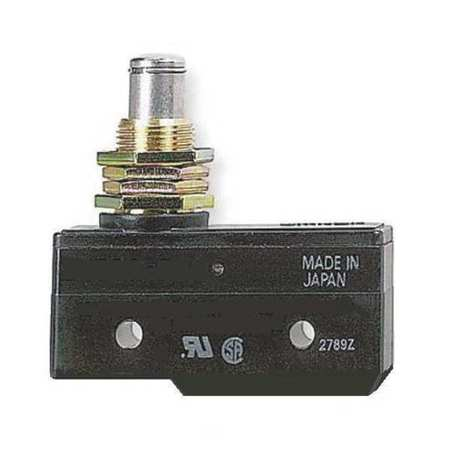 Snap Switch, 20A, SPDT, Panel Mount Plunger
