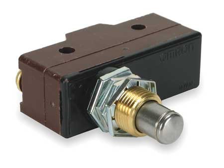 Snap Switch, 10A, SPDT, Panel Mount Plunger