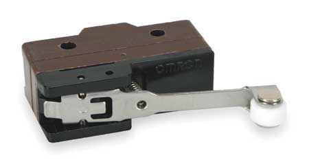 Snap Switch, 10A, SPDT, Hinge Roller Lever