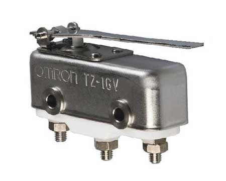 Snap Switch, 1A, SPDT, Hinge Lever