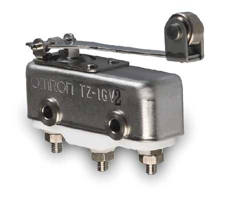 Snap Switch, 1A, SPDT, Hinge Roller Lever