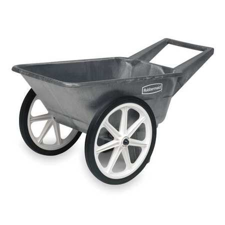 Big Wheel Cart, HD, 1/8 cu. yd., 200 lb.