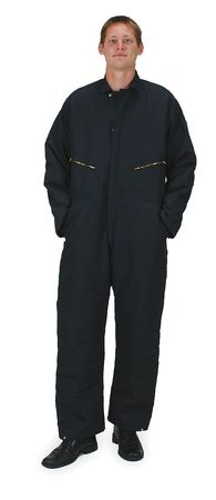 Coverall, Chest 57In., Navy
