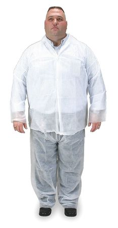 Disposable Pants, S/M, White, PK25