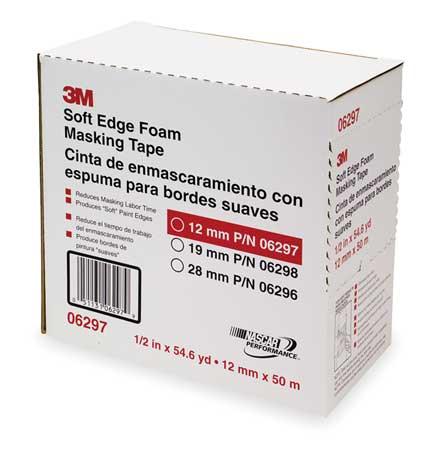 Masking Tape, White, 13mm  x 50m