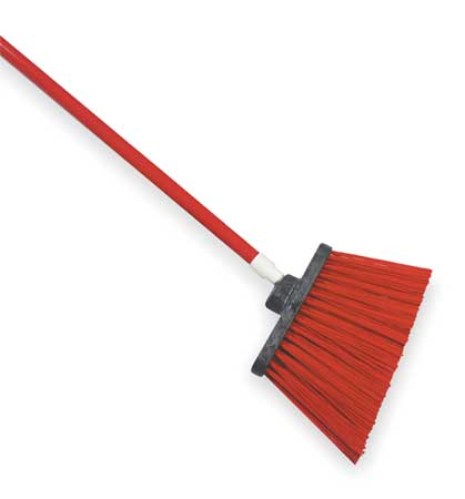 "TOUGH GUY Red 12"" Polypropylene Angle Broom"