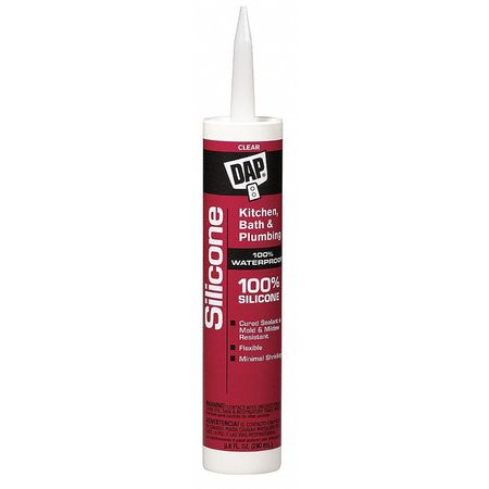 Kitchen and Bath Sealant, 10.1 oz, Clear