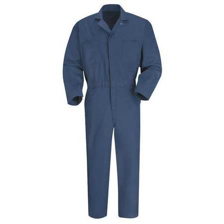 Coverall, Chest 48In., Navy