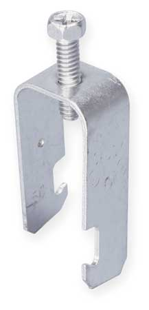 Conduit Clamp, 1 In EMT, Silver