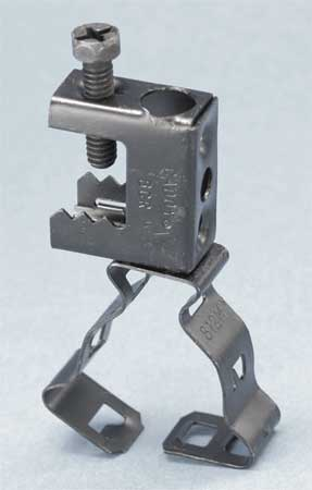 Beam Clamp, 1/2 to 3/4 in., 3 Layer Finish