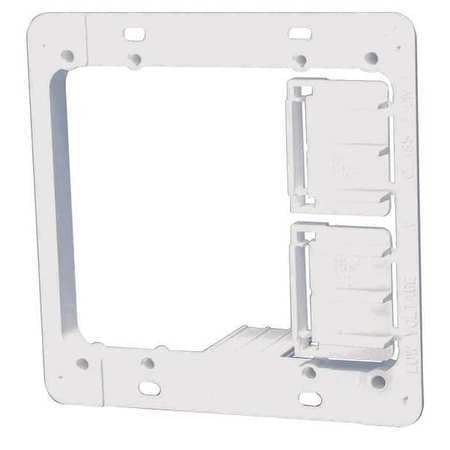Communication Mounting Bracket, 2-Gang