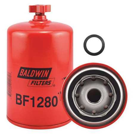 Fuel Filter, 6-1/4 x 3-11/16 x 6-1/4 In