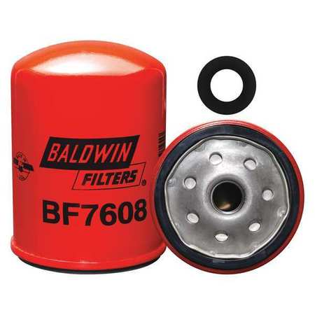Fuel Filter, 4-3/32 x 3-1/32 x 4-3/32 In