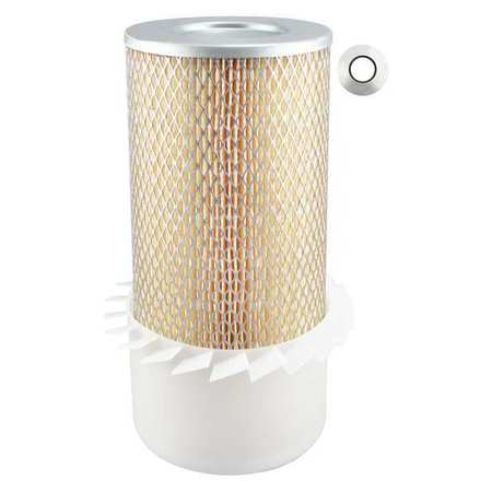 Outer Air Filter, 6-3/32 x 12-3/8 in.