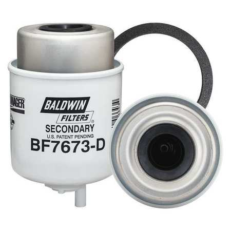 Fuel Filter, 5-7/32 x 3-9/32 x 5-7/32 In