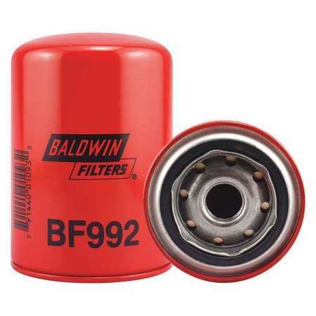 Fuel Filter, 5-3/8 x 3-11/16 x 5-3/8 In