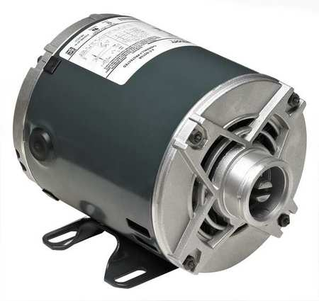 Pump Motor, Split Ph, 1/3 HP, 1725, 115V, 48Y