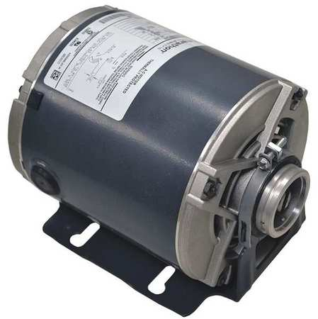 Pump Motor, Split Ph, 1/4 HP, 1725, 115V, 48Y