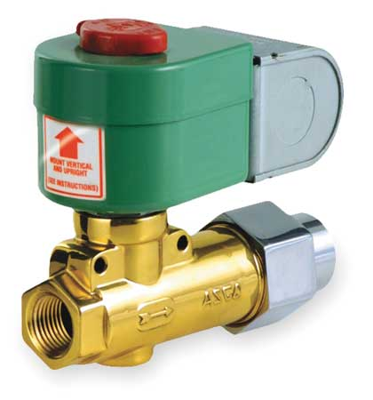 "3/8"" NPT 2-Way Fuel Oil Solenoid Valve 120VAC"