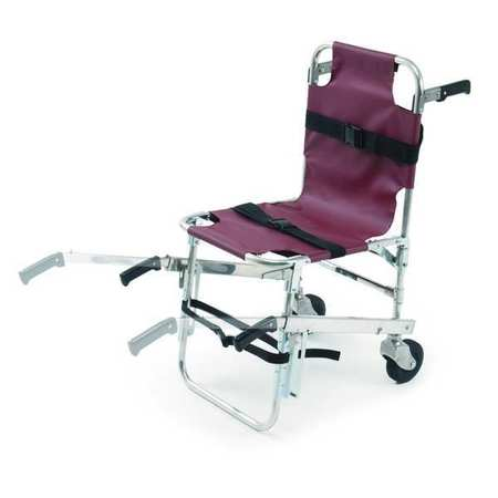Stair Chair, 350 lb. Cap., Burgundy